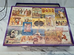 Gibsons 1000 piece jigsaw puzzles Cadbury Heritage Collection