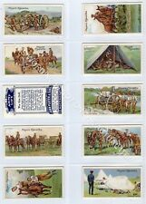 Full Set, Players, Army Life 1910 EX (Gb1844-442)