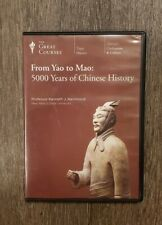 From Yao to Mao, 5000 Years of Chinese History, the Great Courses