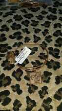 NWT ALEX AND ANI BRACELET  ** HASBRO  ALL FOR ONE **  gold tone finish RETIRED
