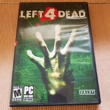 Left 4 Dead PC DVD-ROM Game rated M valve corporation 2003 zombie apocalypse