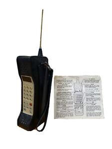 Motorola Vtg Brick Cellular Telephone Portable Mobile Phone Battery Case