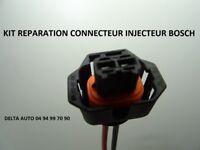 KIT DE REPARATION CONNECTEUR INJECTEUR BOSCH PEUGEOT/CITROEN/FIAT/RENAULT/ALFA..