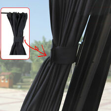2pcs Car UV Protection Sun Shade Curtains Side Window Visor Mesh Cover Shield