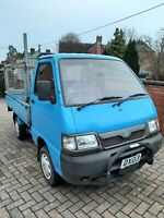 PIAGGIO PORTER BIG DECK DROPSIDE  1.4 DIESEL CAGED GARDENER  NEW MOT LOW MILEAGE