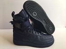 """NIKE WMNS AIR FORCE 1 SF AF1 SPECIAL FIELD """"USA"""" BLUE SZ 6 [857872-400]"""