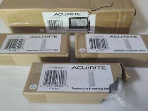 acurite 02082M indoor/outdoor weather station w/ 3 sensors , WIRELESS, BRAND NEW