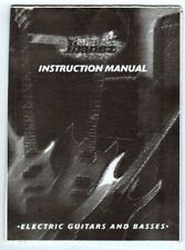 IBANEZ 2000 Electric Guitar & Bass Instruction Manual, China, Good Condition