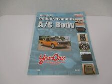 2003 YearOne Restoration Parts & Accessories for 1966-74 Dodge Plymouth A/C Body
