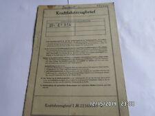 INFORME DE ÉPOCA 1961 RENAULT R 1090 840 CCM 26,5ps DAUPHINE Hoja de datos MO