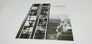 USA AMERICAN FILM MAKING BEHIND THE SCENES  FULL SHEET OF 10 MINT-NH 37 CENT
