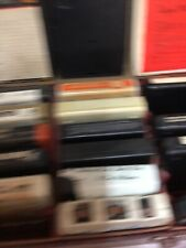 24 Classic Rock/Oldies 8-Track Tapes And Case