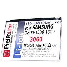 BATTERIA per SAMSUNG SGH D800 D 800 I300 I320 Li-ion 850mAh