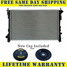 Radiator With Cap For Ford Lincoln Fits Edge Taurus Mkx Mks Sable 3.5 37 2937WC