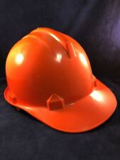 Tuffmaster Orange Hard Hat Bump With Suspension Construction Football Tailgating