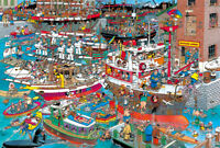 1000 Piece Deluxe Jigsaw Puzzle Comics Busy Port SM1128
