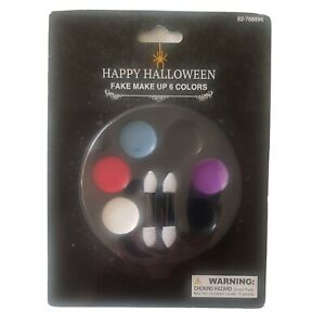 Costume Fake Paint Make Up 6 Colors Stage Makeup Theater Play Party Holiday