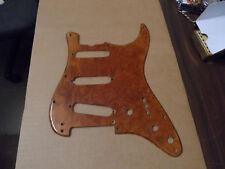 Vintage Fender Stratocaster Burrel Wood Pickguard
