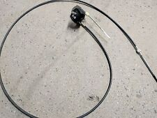 TELEFLEX 15' CABLE STEERING HELM ROTARY BOAT 1985 CHAPARRAL MARINE WHEEL 88C72