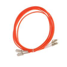 10ft SC to LC SC-LC Duplex PVC Multimode Fiber Optic Patch Cable Cord