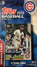 Chicago Cubs 2020 Topps Baseball Factory Sealed Team Set Kris Bryant Javier Baez