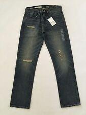 GAP Men 1969 Standard Taper Destructed Fit Jeans (tinted medium wash) 28X30 NwT