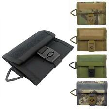 Outdoor Tactical Military Sport Wallet Purse Mesh Pocket Hook&Loop with Buckle