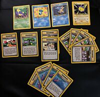 Pokemon Card Neo Genesis Base Set 111 Cards