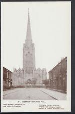 Yorkshire Postcard - St Stephen's Church, Hull  T170