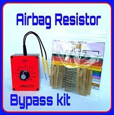 Mercedes airbag bypass resistor kit sl c slk E class squib Curtain clock spring