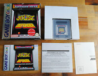 Jeu ARCADE HITS JOUST DEFENDER + boite d'origine pour Nintendo Game Boy Color