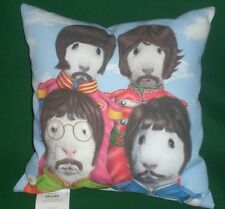 SGT PEPPERS LONELY HEARTS CLUB BAND The BEATLES Hamster Pillow Pets Rock 16 x 16