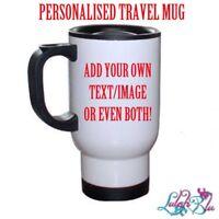 Personalised Travel Mug | Customised Mug | Custom | Thermal Mug | Birthday Gift
