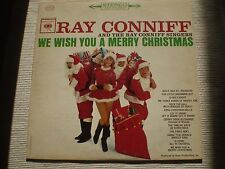 "Ray Conniff ""We Wish You a Merry Christmas"" NM/EX 1962 COLUMBIA CS-8692 St LP"