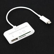 1 PCS USB Card Reader Micro SD Camera DSLR Link Adapter For IPad Iphone X 8 7 6