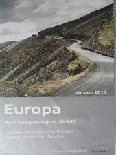 Audi navegación DVD a3/a4/a6/TT Navi plus 2011 RNS-E Alemania/este/croacia