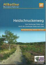 Wanderführer Heidschnuckenweg v HH ü Lüneburger Heide n Celle 2020 NEU Hikeline