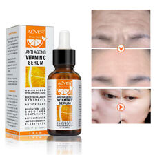 Pure Vitamin C 20% Serum for Face Skin Hyaluronic Acid Anti Aging 30ml Beauty RD