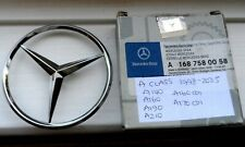 NEW MERCEDES FACTORY SUPPLIED A CLASS BOOT BADGE A1687580058 - 1998 - 2005