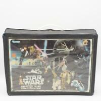 Vintage Star Wars Vinyl Action Figure Case w/ Inserts