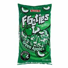 Green Apple Tootsie Frooties - 360 Piece Bag - Over 2 Lbs! - Free Shipping