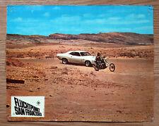 VANISHING POINT - Mopar Dodge Challenger R/T - German 1971 lobby card #1