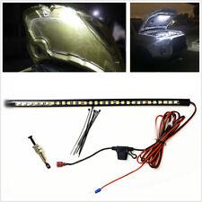 1x 14in Super Bright White LED light bars for Under Hood Engine Bay Lighting