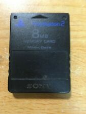 FREE SHIPPING SONY  PS2 PLAYSTATION 2 JAPAN MEMORY CARD 8MB