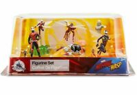 Disney Store Ant-Man and The Wasp Marvel 6 Figure Topper Play Set New and Sealed