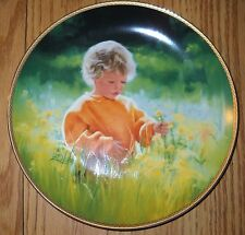 """A Time For Peace 9"""" Donald Zolan Collector Plate"""