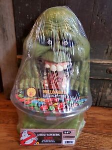NEW Ghostbusters Slimer Rubie's Halloween Candy Bowl & Holder