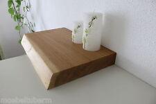 Wandboard Eiche Massiv Holz Board Regal Steckboard Regalbrett NEU Baumkante