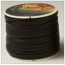 "Kodiak Lace 5/32"" x 50 ft. (4.0 mm x 15.2 M) Black by Tandy Leather # 5075-01"