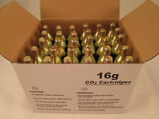 30 food grade CO2 cartridges 16g threaded C02 Mr. Fizz soda 16 gram th keg HVAC